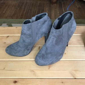 Forever 21 grey bootie